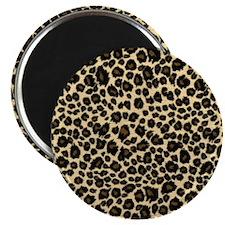 Leopard Print Magnet