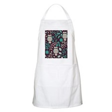 Owls Pattern Apron