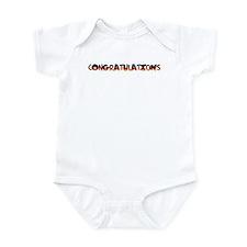 Fun congratulations gift Infant Bodysuit