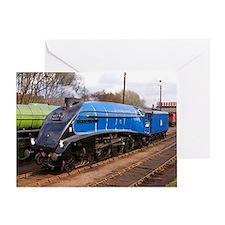 Sir Nigel Greasley - Steam Train Greeting Card