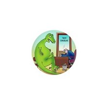 Extinction Insurance Mini Button