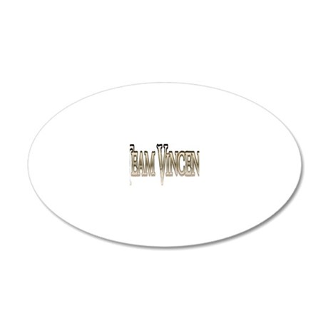 Team Vincent Glow 20x12 Oval Wall Decal
