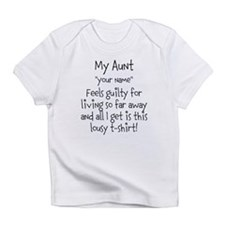 Aunt Guilty Personalized Infant T-Shirt