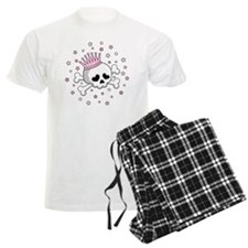 Cute Princess Skull Pajamas