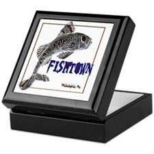 Philadelphia Fishtown, Custom created Keepsake Box