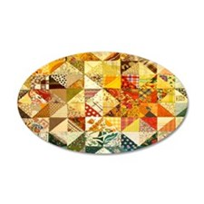 Fun Patchwork Quilt Wall Decal