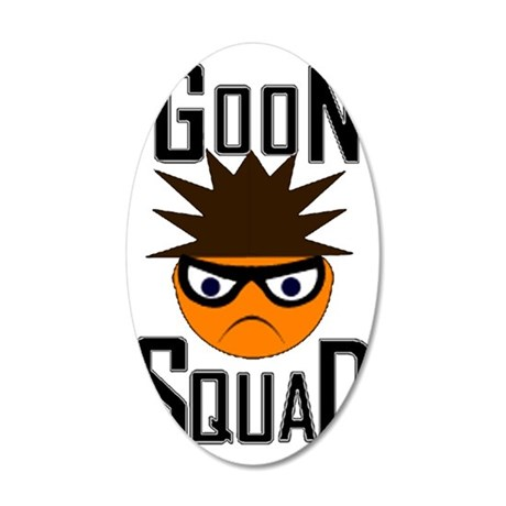 Goon Squad 35x21 Oval Wall Decal