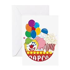 Carnival Logo Greeting Card