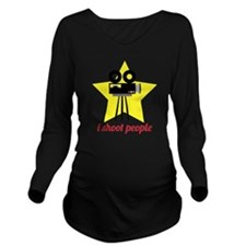 I Shoot People Long Sleeve Maternity T-Shirt