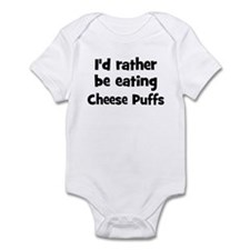 Rather be eating Cheese Puff Infant Bodysuit