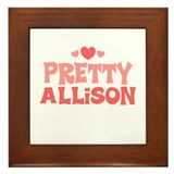 Allison Framed Tile