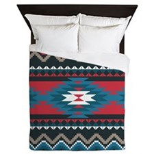Native Pattern Queen Duvet