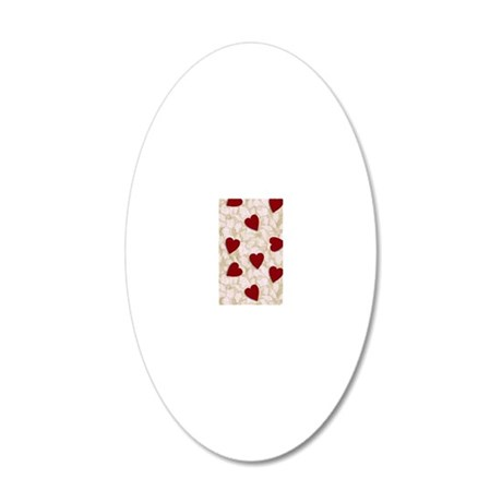 WALLET 20x12 Oval Wall Decal