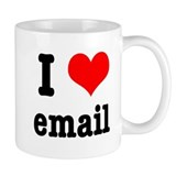 I Heart (Love) Email Coffee Mug