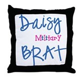 Daisy BRATS Throw Pillow
