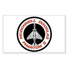 F-4 Phantom II Rectangle Decal