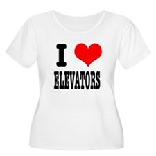 I Heart (Love) Elevators T-Shirt