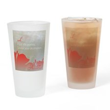 Amandah Tanner Quote Drinking Glass