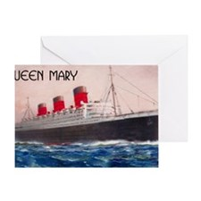 Queen Mary Greeting Card