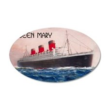 Queen Mary Wall Decal