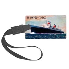 SS United States Luggage Tag