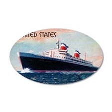 SS United States Wall Decal
