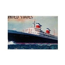 SS United States Rectangle Magnet