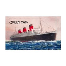 Queen Mary Liner Wall Decal