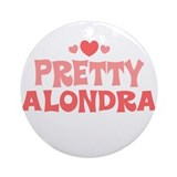 Alondra Ornament (Round)