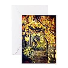 Soft garden arbor Greeting Card