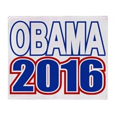 Obama 2016 Throw Blanket