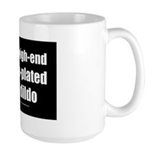 I Love My Steel Dildo wallpeel Mug