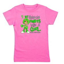 D Niece Fights Like Girl Lymphoma 42.9 Girl's Tee