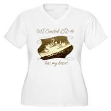 USS Comstock LSD-45 Plus Size T-Shirt