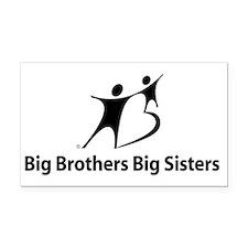 Big Brothers Big Sisters Rectangle Car Magnet