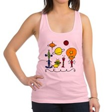 Out of This World Racerback Tank Top