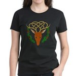 Celtic Stag Women's Dark T-Shirt