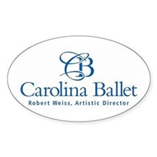 Carolina Ballet Logo Decal