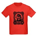 In Dachshund We Trust -Kids Dark Tee