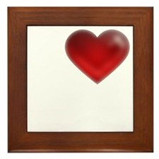 I Heart Cape Breton Island Framed Tile