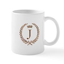Napoleon initial letter J monogram Mug