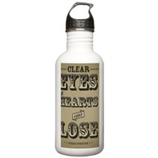 Clear Eyes Full Hearts Water Bottle