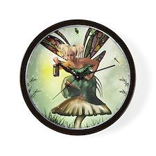 Shamrock Fae Wall Clock
