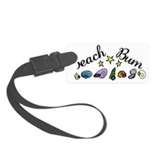Beach Bum Luggage Tag