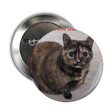 "Riley-I support Blind Cat Rescue 2.25"" Button"