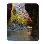 Zion National Park Cave Mousepad