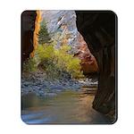 Zion National Park Cave Mousepad