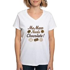MeMaw Chocolate Shirt