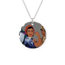 women empowerment Necklace