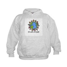 one world,one people Hoodie
